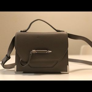 Mackage Keeley Peppled Leather Crossbody Bag
